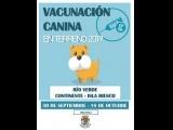 Vacunación Canina en Terreno